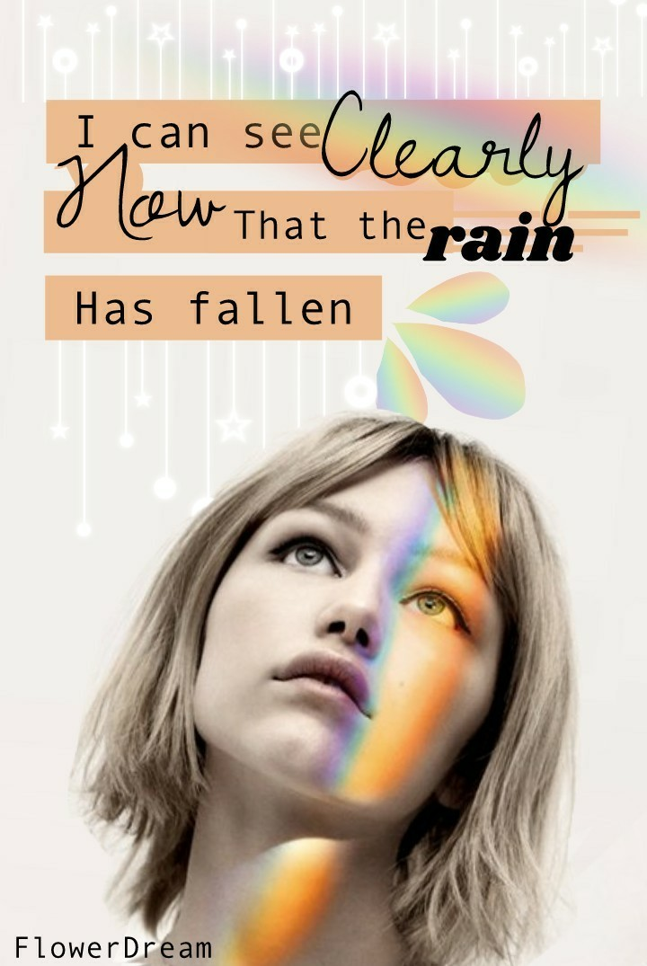 🌈 ✨This is so simple but I really like it. (Maybe it's because Grace is in there.) The words are from her single clearly. ✨🌈  Grace Vanderwaal-Clearly