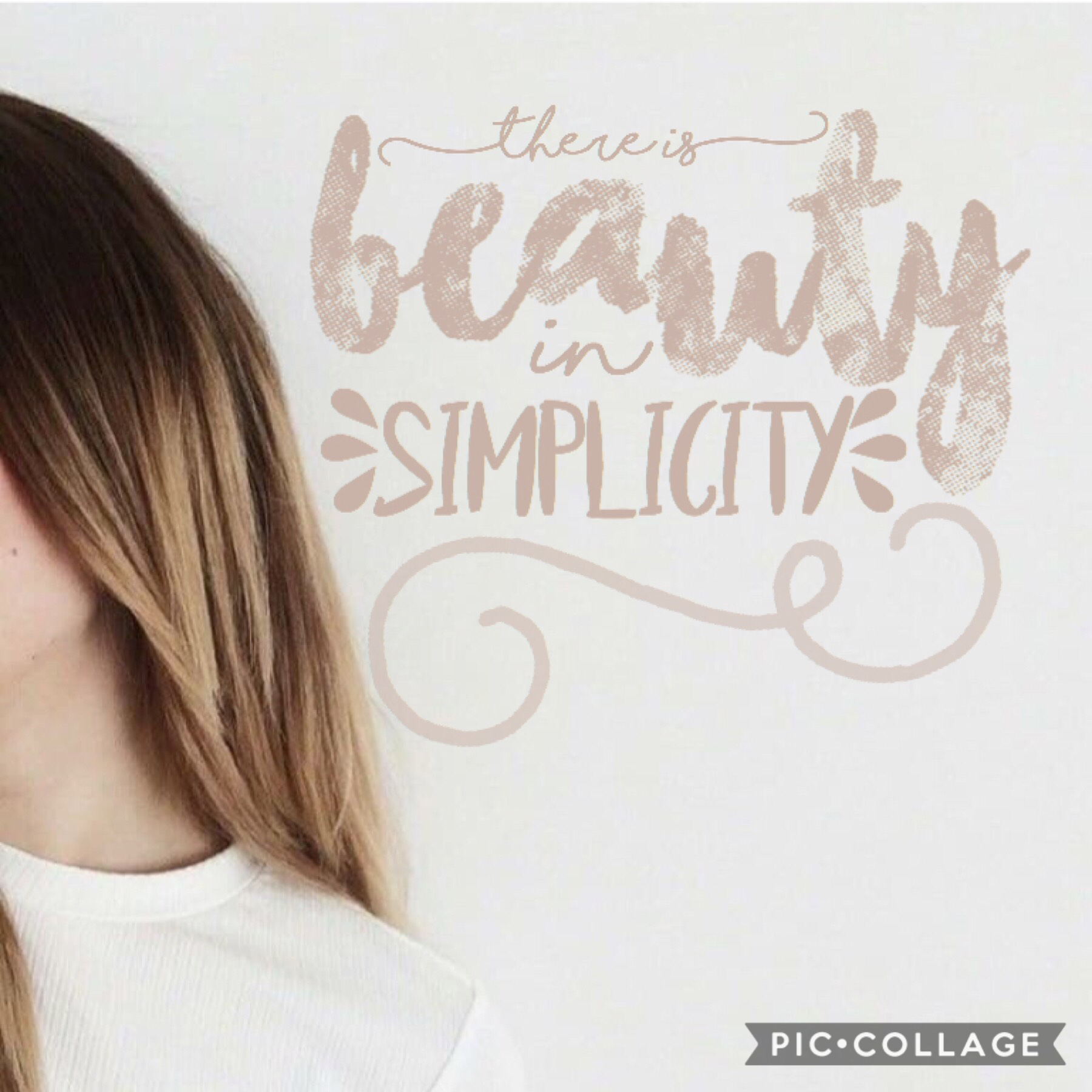 ~there is beauty in simplicity~