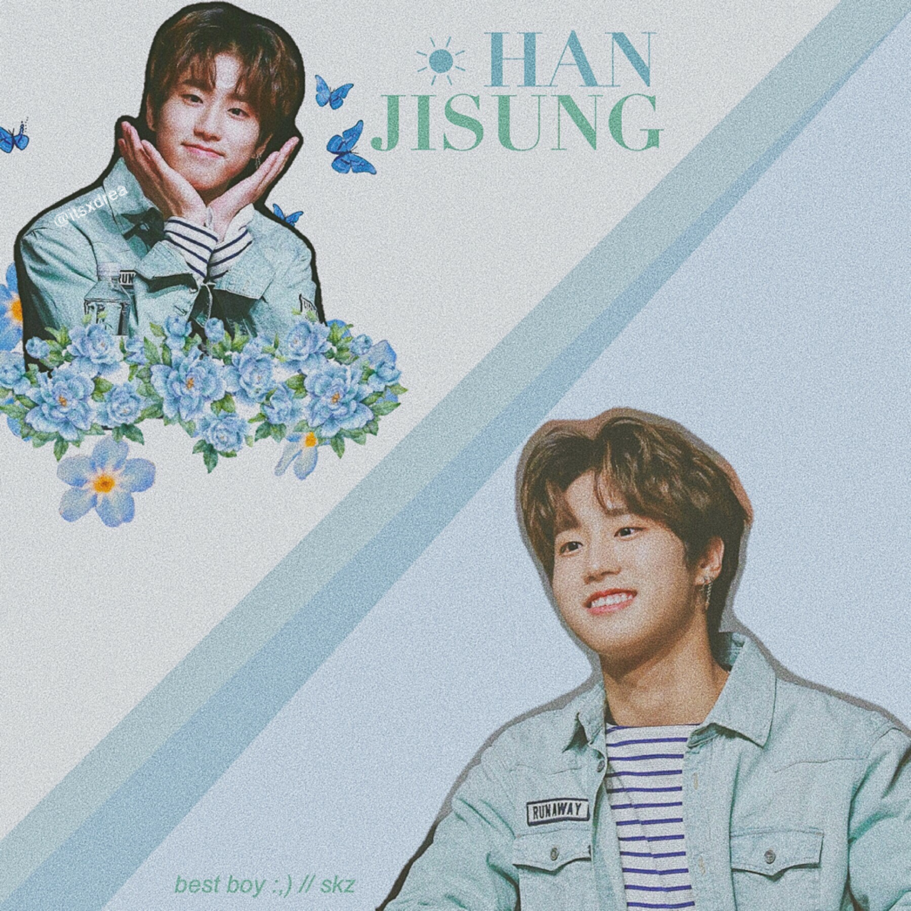 🎐 • han jisung // skz • > edit request for @Hoi_123 <  i hope you like it !! 👉🏼👈🏼 also i've been somewhat getting into skz more,, bc priorities 😌 anyways stream god's menu