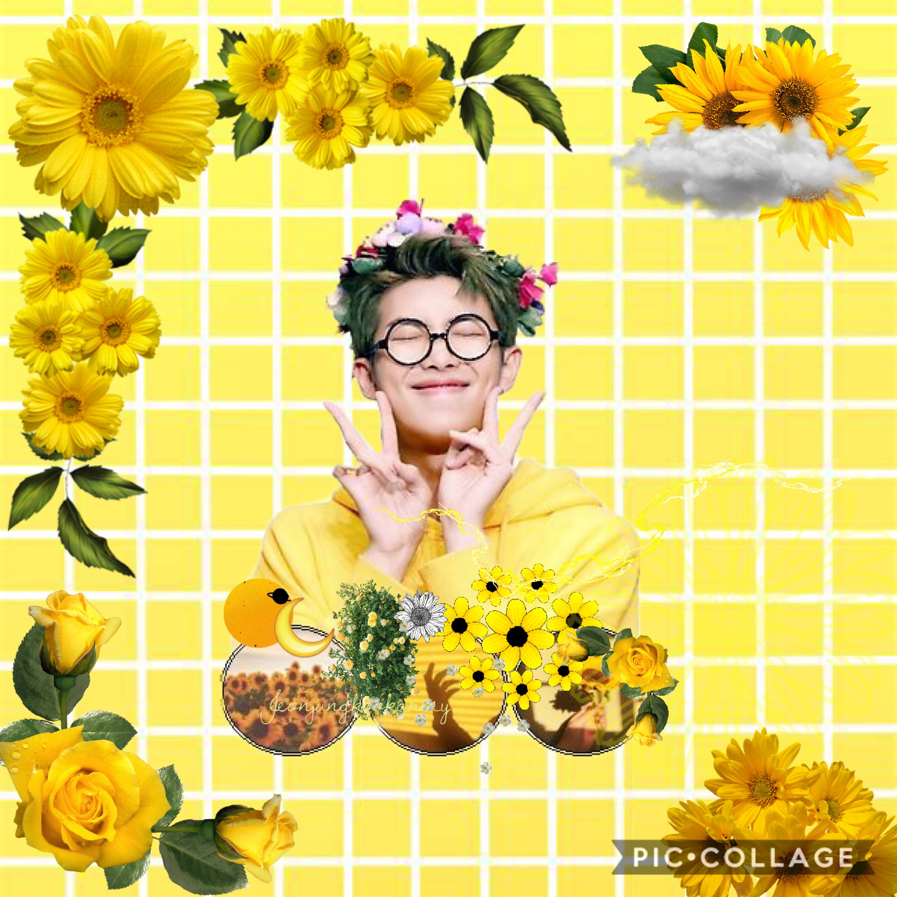 🌻tap🌻 Hello I think this is my last post until August  Because I have one more week of school But I still have my other account @whyyousad Sooo yeah luv you kookies!! Bye~