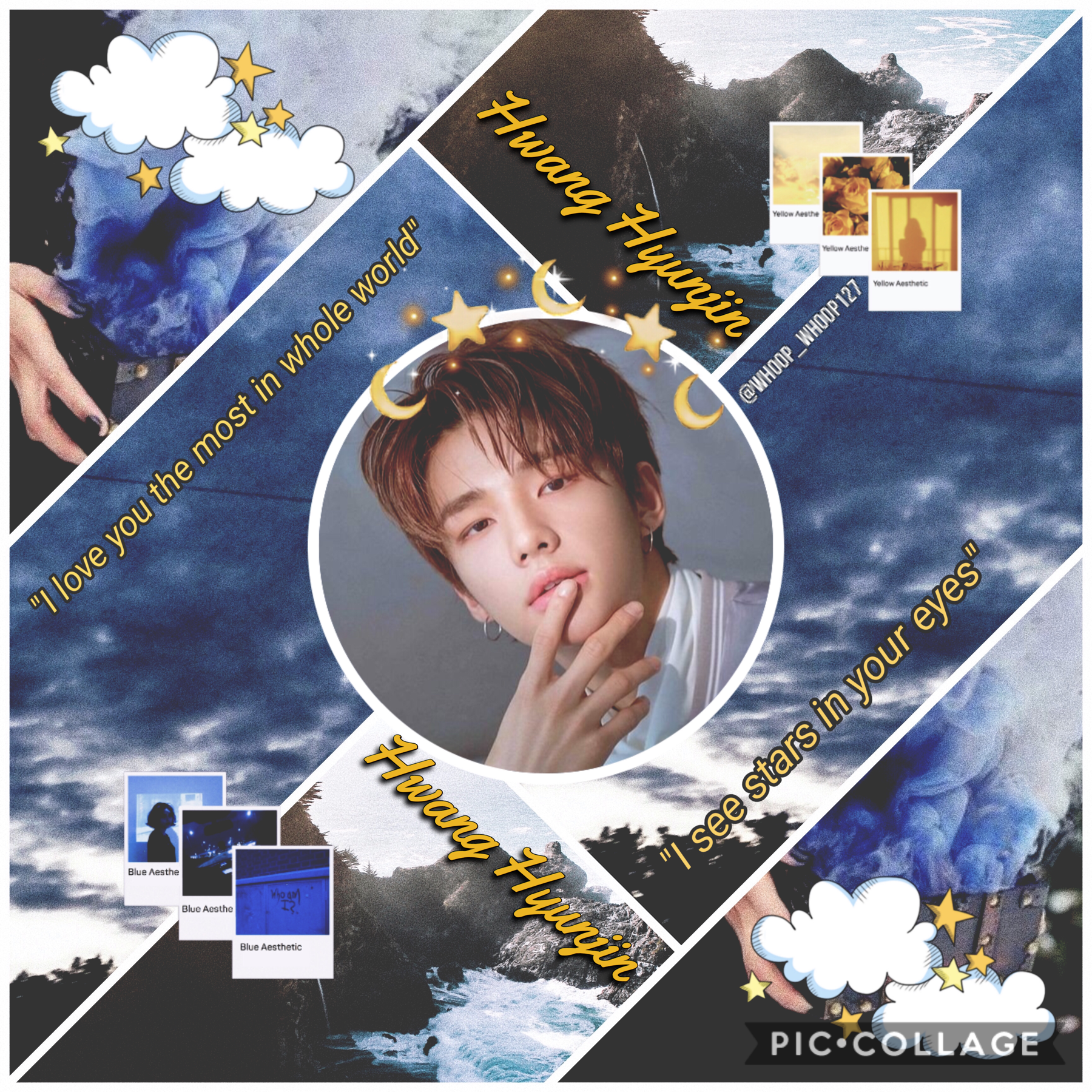 "•🚒• 🍂Hyunjin~Stray Kids🍂 Ahhh I finally posted!! 🥺❤️ I was actually kinda surprised at this aesthetic lol. I may not be as ""diverse"" in my edits anymore (a ton of different groups) bc I want to post on my Aminos (X1 and SKZ😊) I love you all!💞"