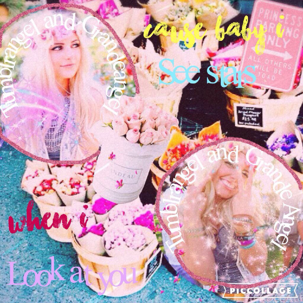 Coolab with the amazing grandeangel😊🦄💦💖🎀✨💟💎💗💘⭐️