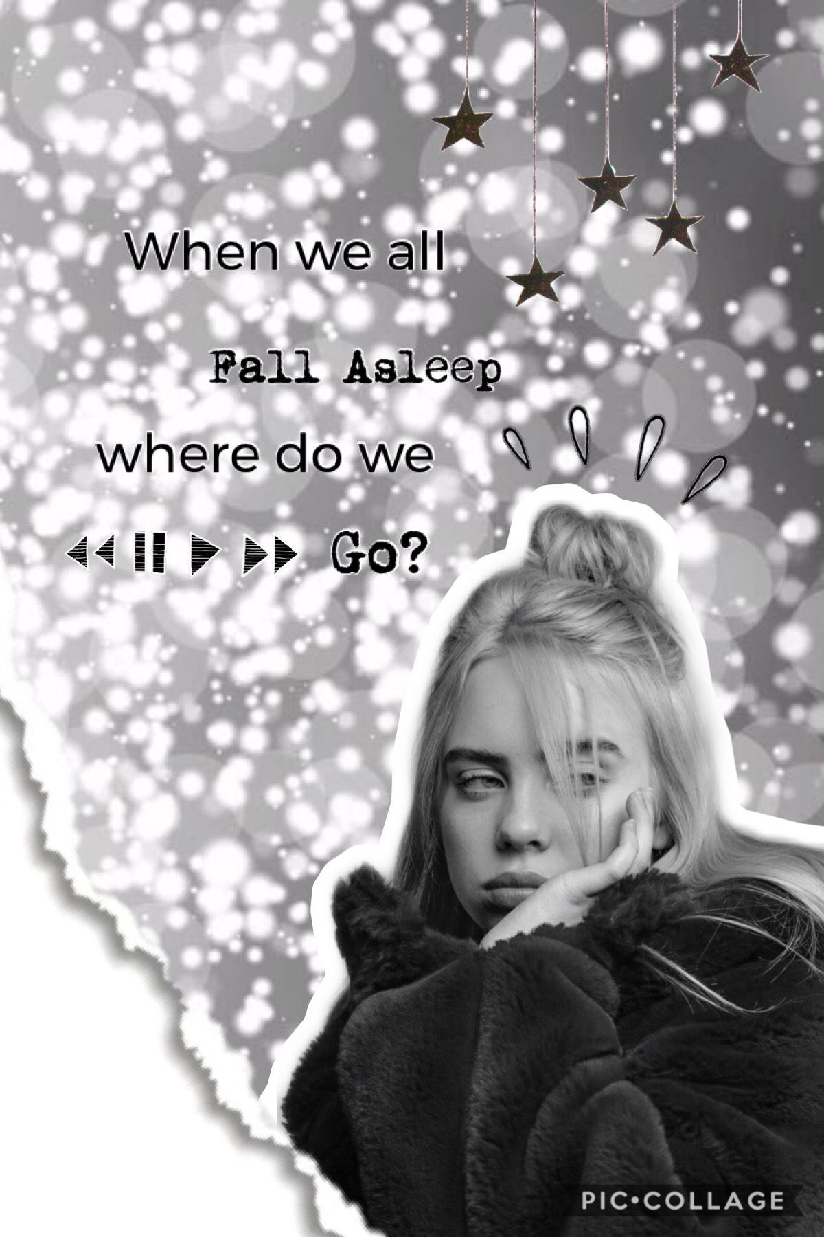 🖤tap🖤 Yes, it's another Billie collage. How was your 4th of July?