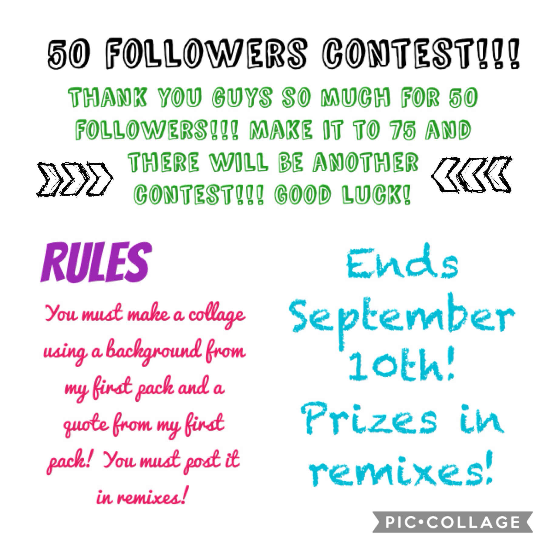 You can only post on one account! Good luck. Prizes in remixes