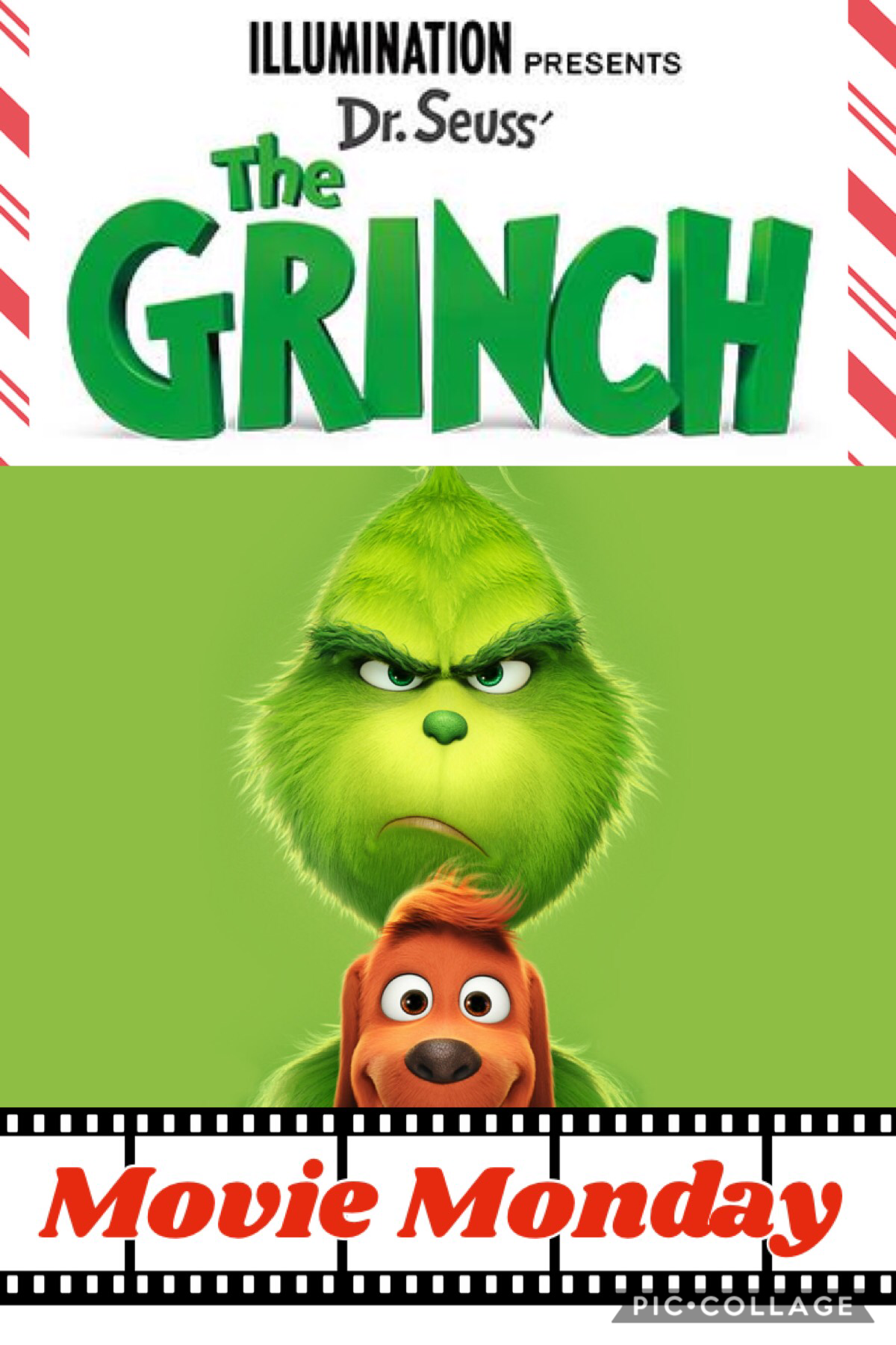 Movie Monday! 🎄 📽 🍿 (Late, but what else is new. 👀 ) The Grinch was great, I recommend it. 💚 🖤 ❤️ It's National Electric Guitar Day! 🎸 Plz check the remixes of this post for a blog/update. ↘️ It's after 2:40am and I have school. 😤 💤 ⏰
