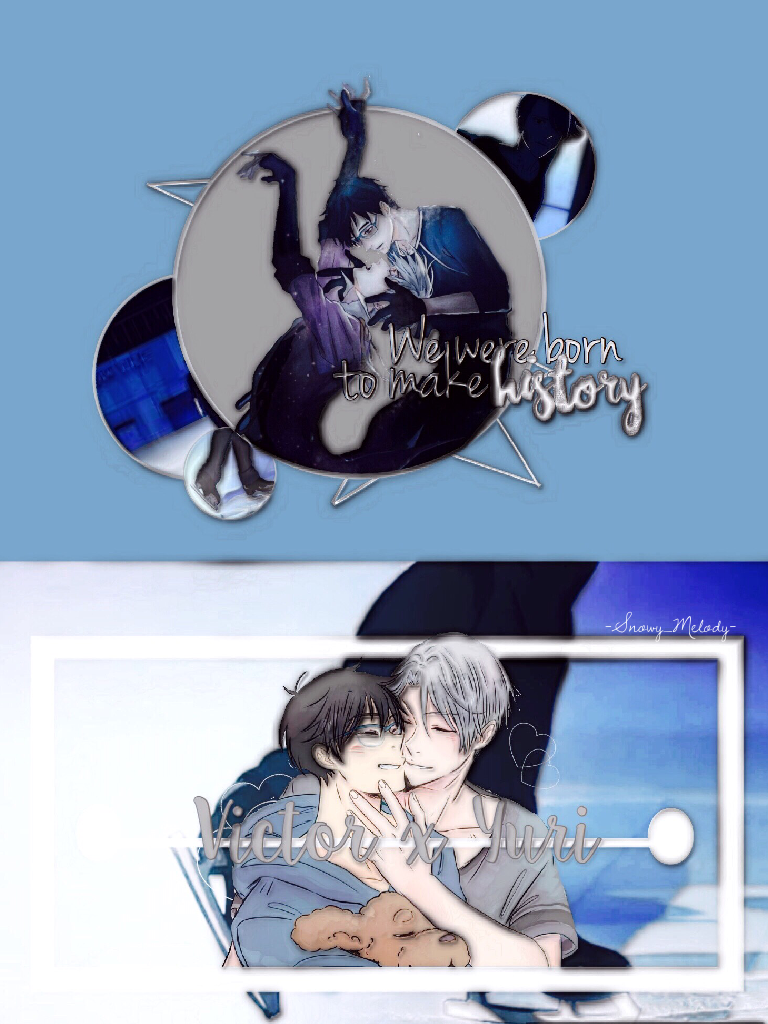 I just recently noticed how I haven't made a Yuri on Ice!!! Edit yet so here!  oh wow, I actually like this edit a lot