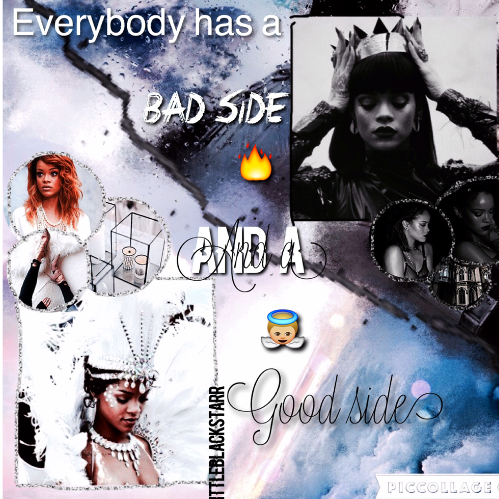 Tap😈👼🏼 FIRST Rihanna edit!☺️ dont really know if i like this one though...😅🌙 40 likes for another selfie?💥 I'm trying to do some other celebs then ariana, but ariana is just my queeeeen❤️. The next few edits are going to be Ariana again👼🏼☺️💋💫