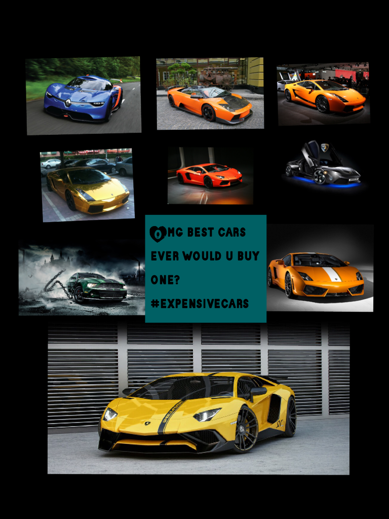 Omg best cars ever would u buy one? #expensivecars