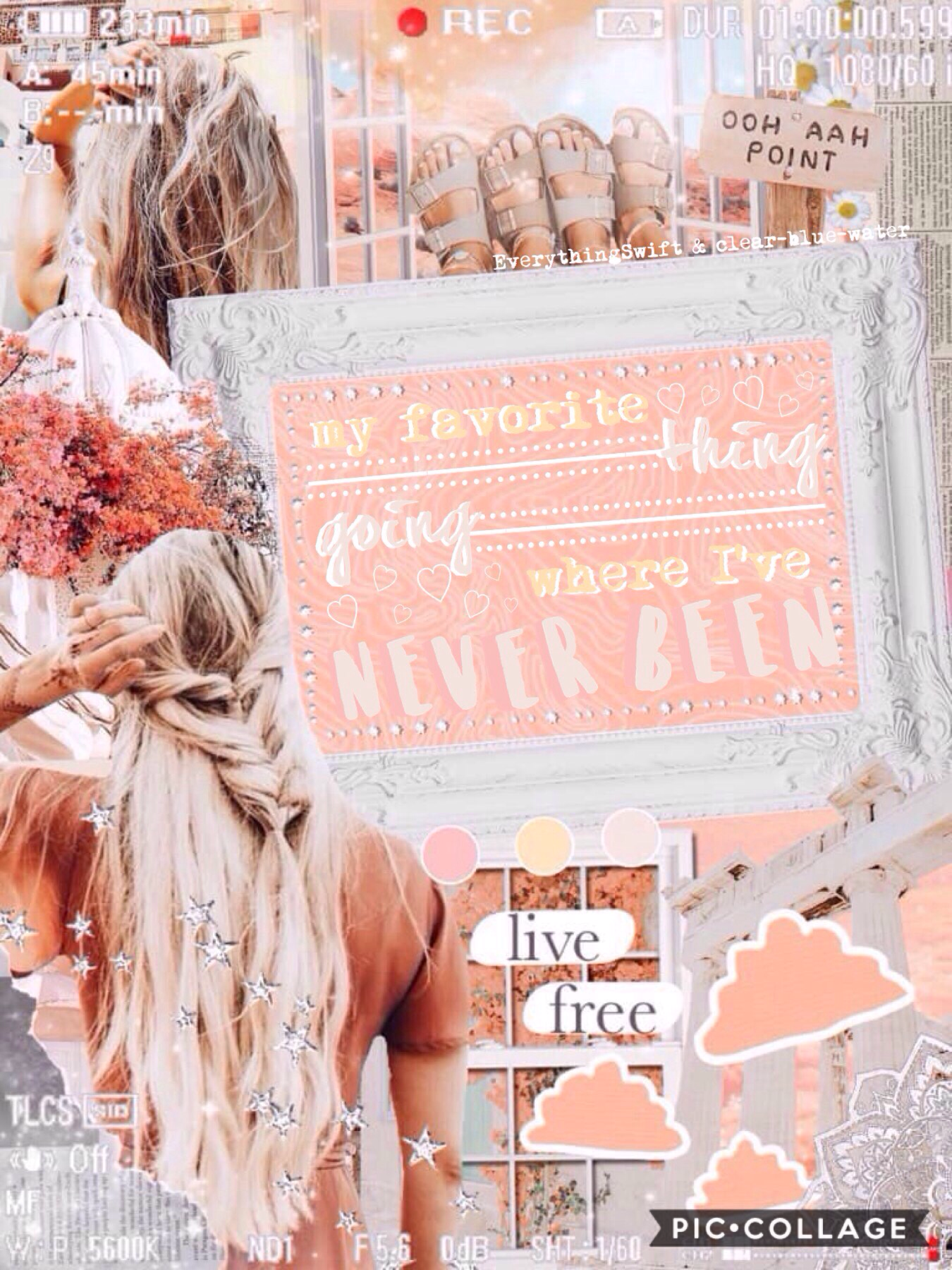🌸T A P🌸 Collab so my bestie  EverythingSwift. Sorry for so much inactivity. I love you guys and I'm so sorry for inactivity but I'm gonna try to get more collages done. QOTD: What are your favorite apps? AOTD: PC, Pinterest, and Insta