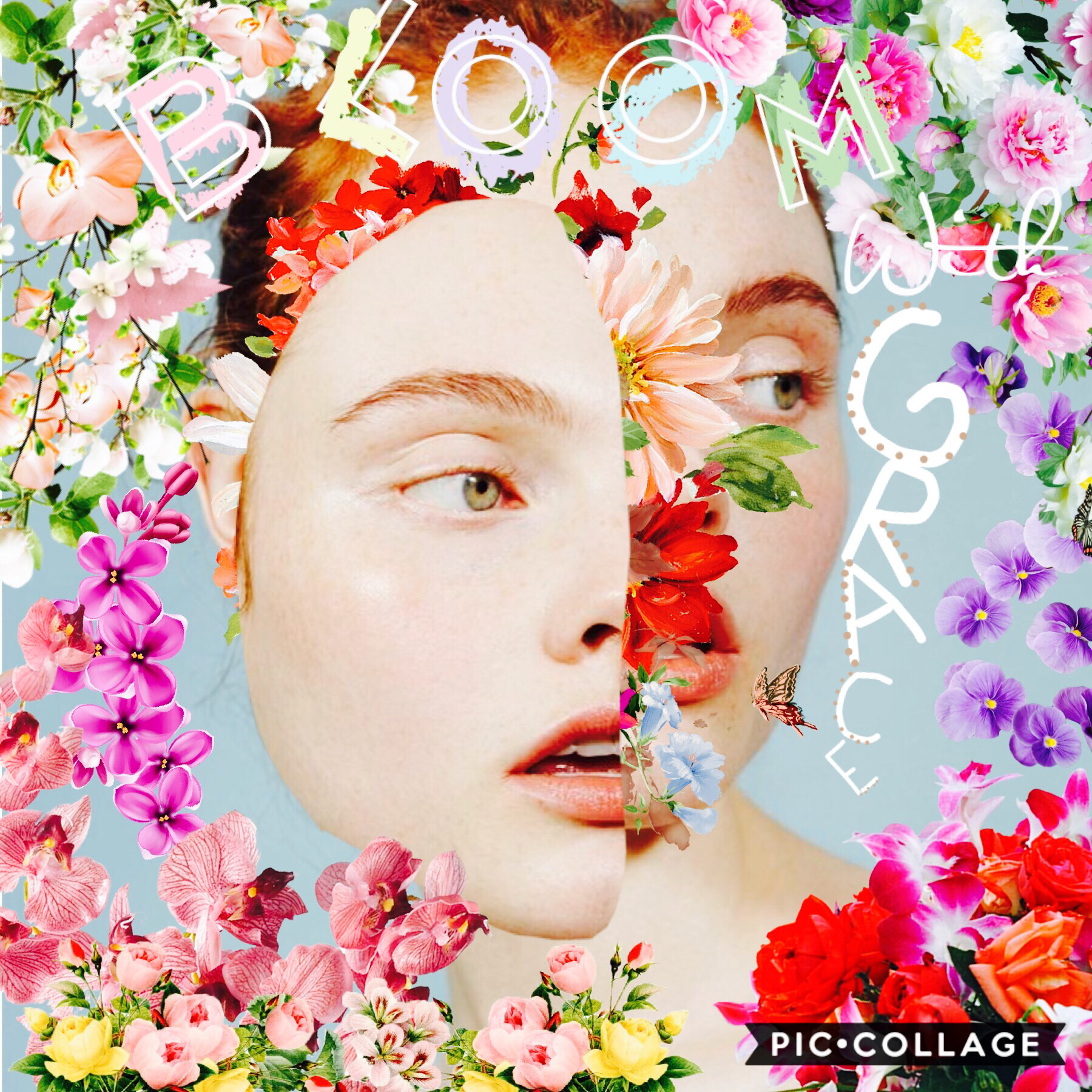 ✨tap✨ 𝒷𝓁𝑜𝑜𝓂 𝓌𝒾𝓉𝒽 𝑔𝓇𝒶𝒸𝑒 This was inspired by... The_Bear_With_The_Petals. I absolutely love her style so I decided to try it! Definitely not as good as her collages... but it was still fun to make!💗😊 QOTD: favorite music genre? AOTD: classical 𝒽𝒶𝓋𝑒 𝒶 𝓁𝑜𝓋𝑒𝓁