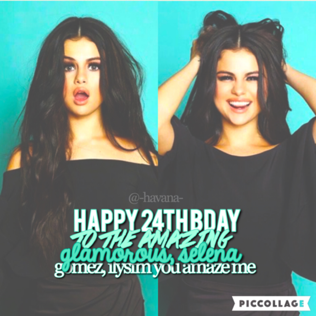 tap here 💚  happy bday to this beautiful young woman, selena ilysm 😘