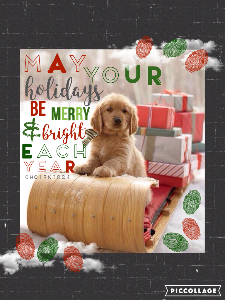 Inspired by the one and only iluvsushi! Only 6 days until Christmas! 🎄🎁🎅🏼 I can't wait! Hope you like this Christmassy collage, I tried really hard on it! 🤗
