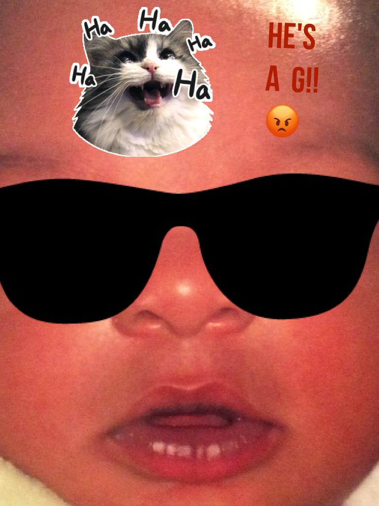 He's a  g!!😡
