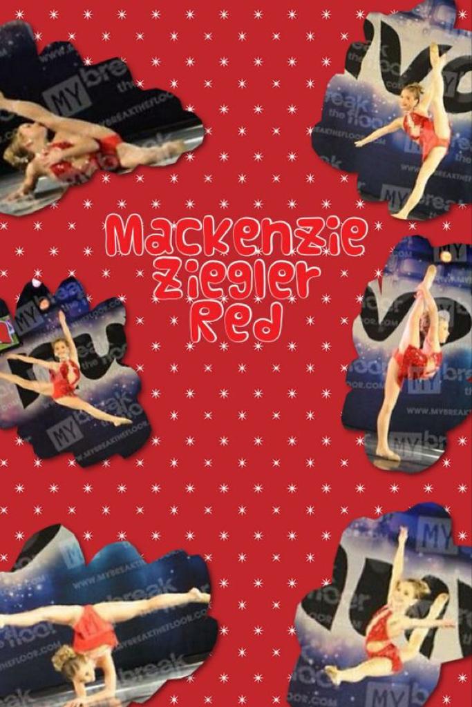 Gg23Gg23  Mackenzie Ziegler   Red