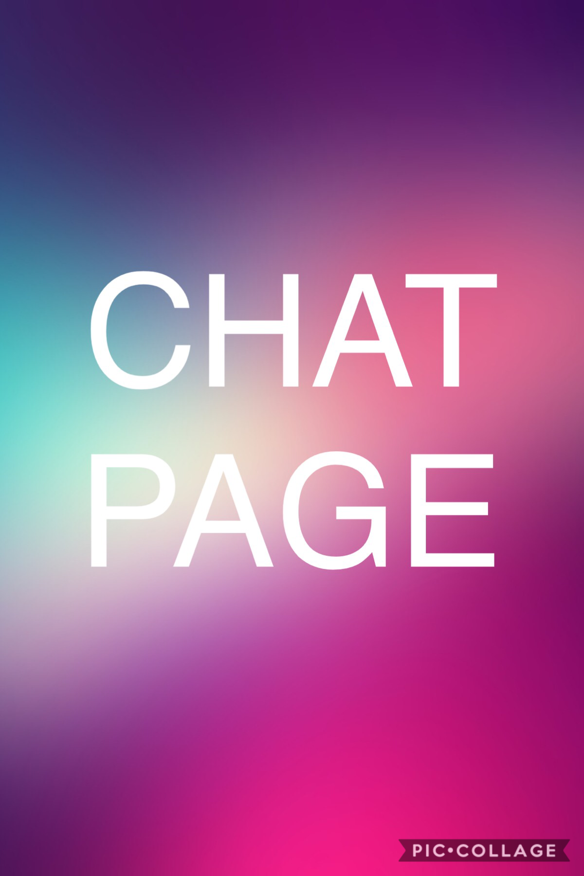 ANY BODY CHAT PAGE
