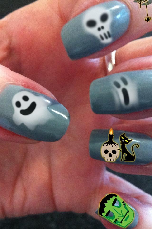 Haunted fingernails... I know get a life :)x