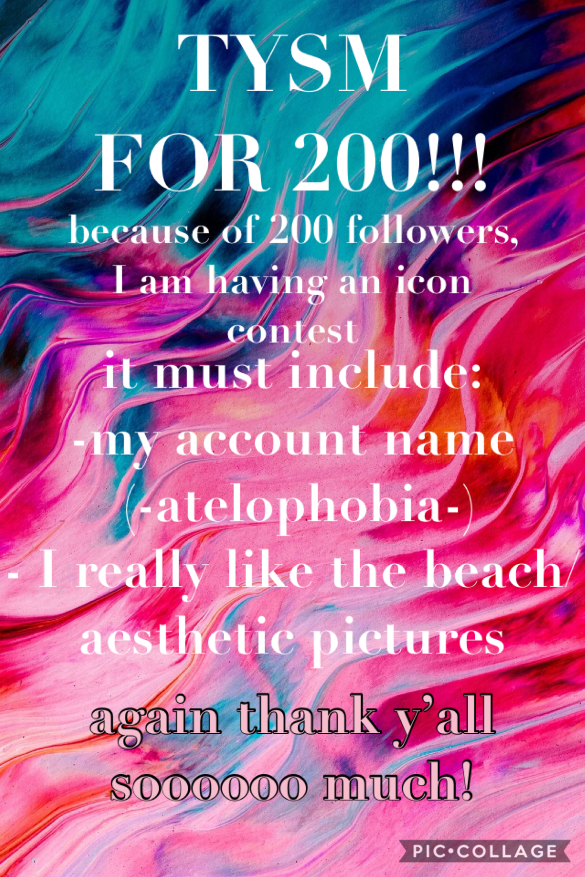 ❤️❤️ thank y'all for 200!!