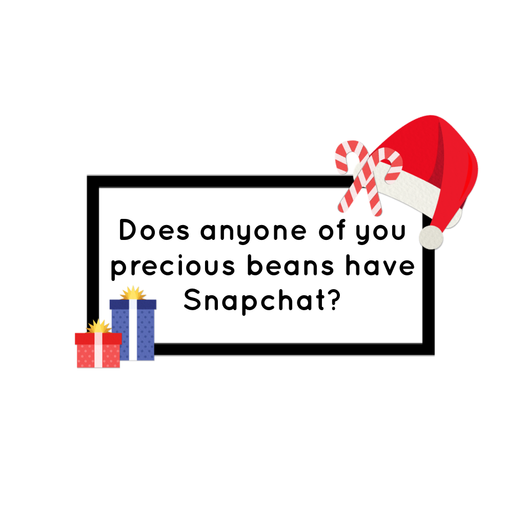 🎄//tap!//🎄  Cause I'll be on here a bit more now, but after my break I'll mostly only check my snapchat. Plus, I really want to keep in touch with you guys during my little hiatus.
