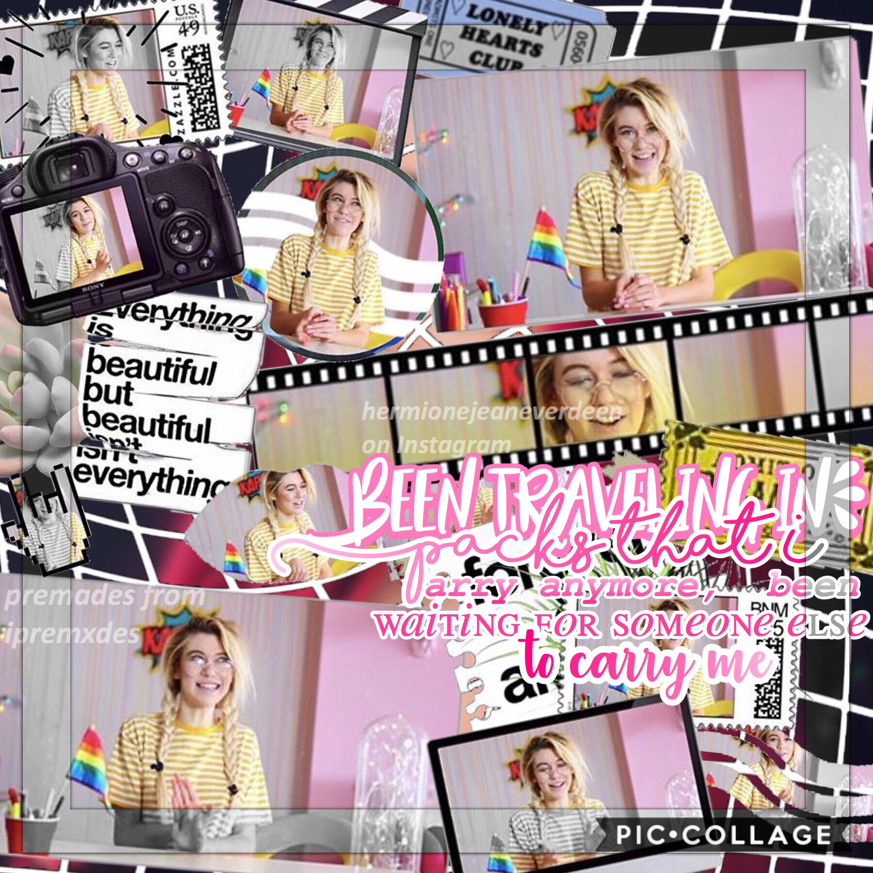 tap Jessie Paege, the YouTuber in this edit, just came out on her channel and(its a 2 part video) the videos are so amazing, please check them out and show her love! Also, there's a tutorial on this edit on my YouTube channel!