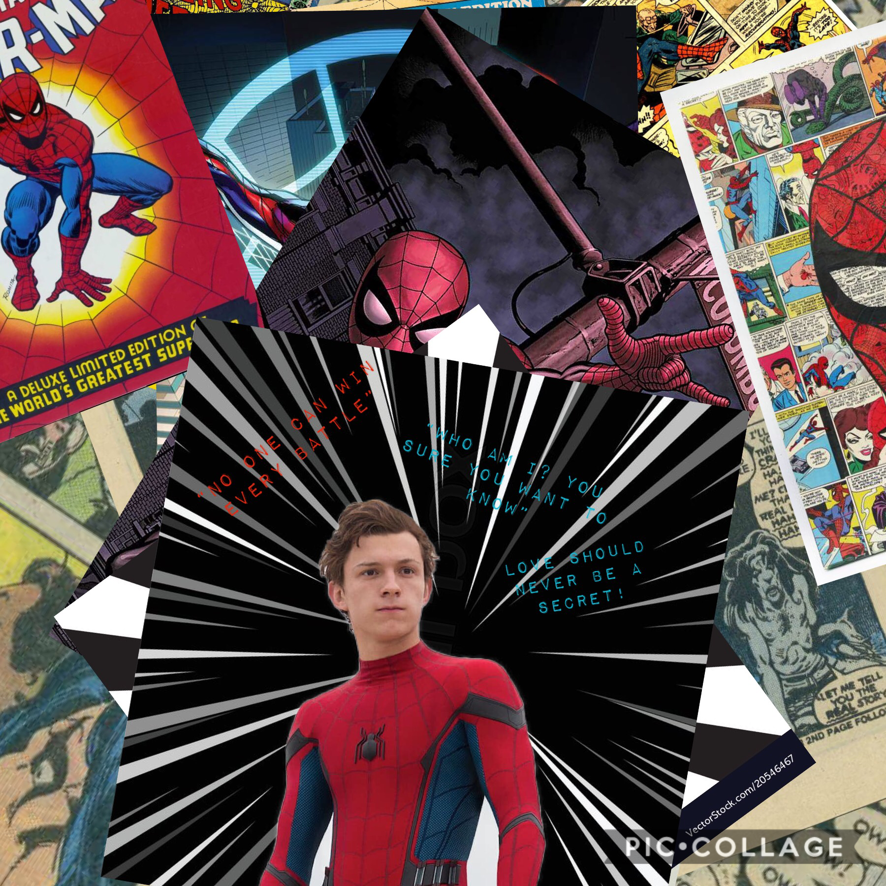 ❤️Tom holland💙 #spiderman