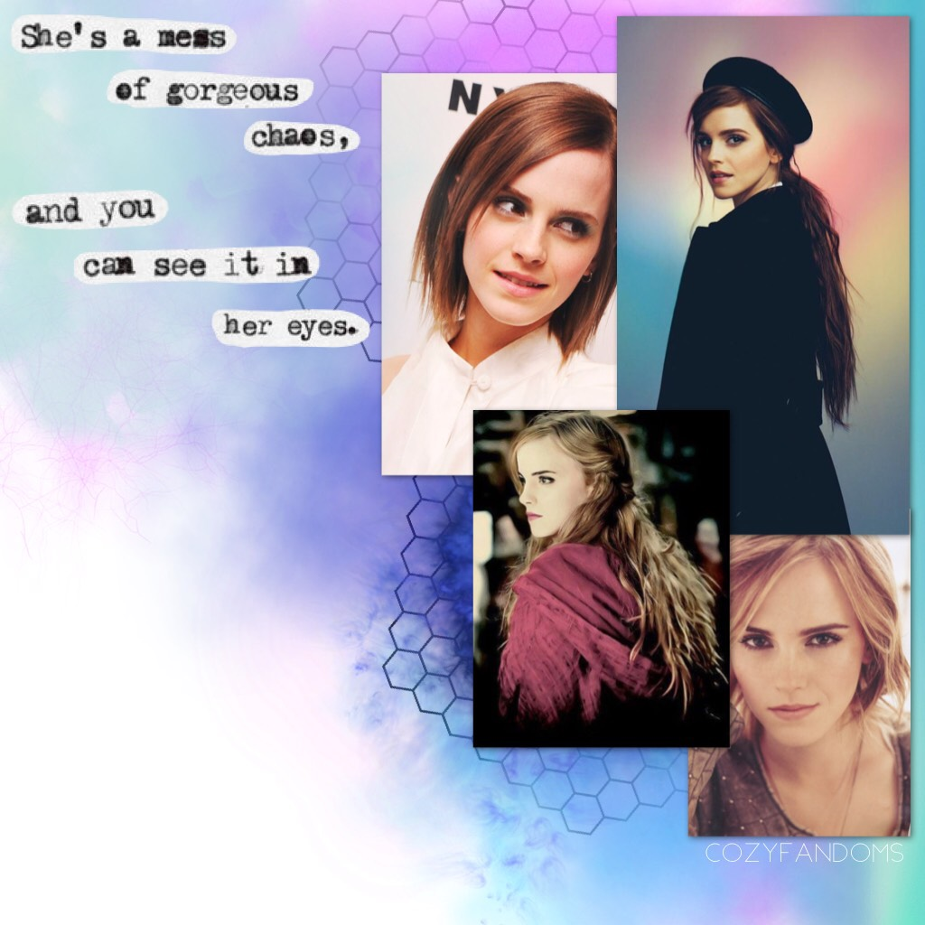 1/27/18 Today is a special day for me...I won't say what it is but I'm really happy about it! Anyway if you don't know me that well you don't know about my obsession with Emma...it's a problem...