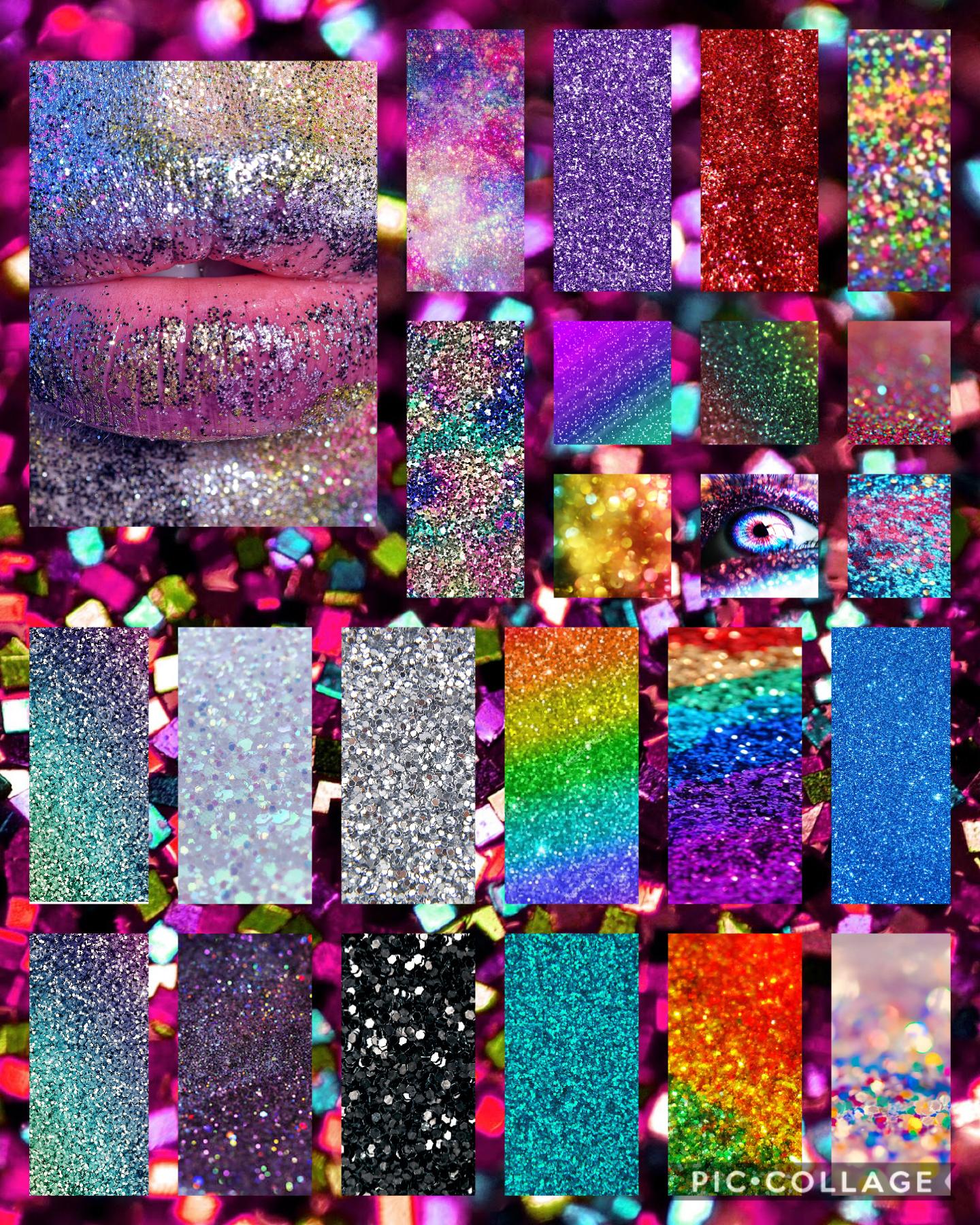 You like glitter ✨