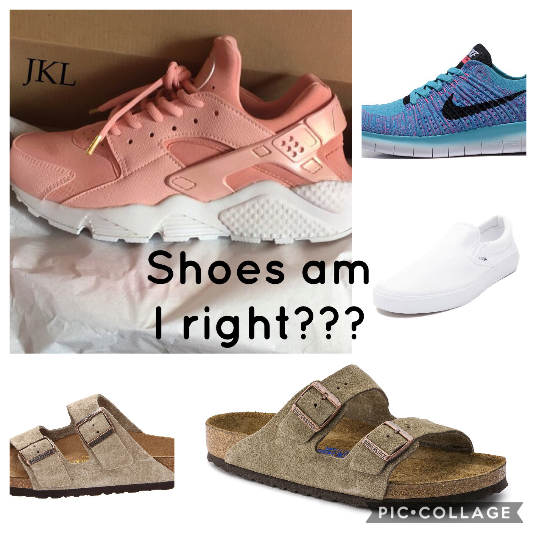 Shoes am I right???