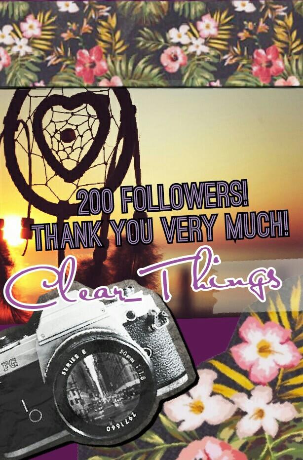 200 Followers!