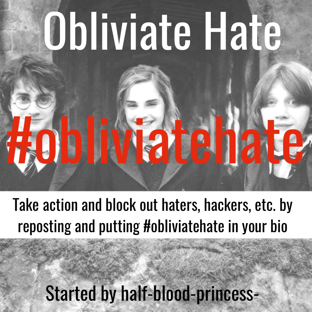 """Do this and comment """"done"""" for a spam #obliviatehate"""