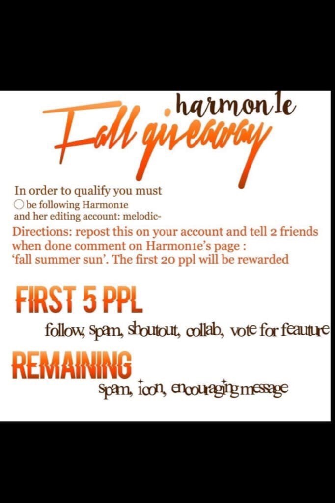 🍁tap🍁  REPOST! Harmon1e has awesome collages and totally deserves so many more followers!❤️