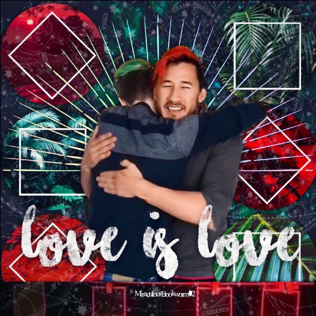 Septiplier Pride Month Edit (I know the ship is nearly dead, but I still think it's cute. I made it for Pride Month too, which if you didn't know is basically a month for all LGBTQ+ people to unite.