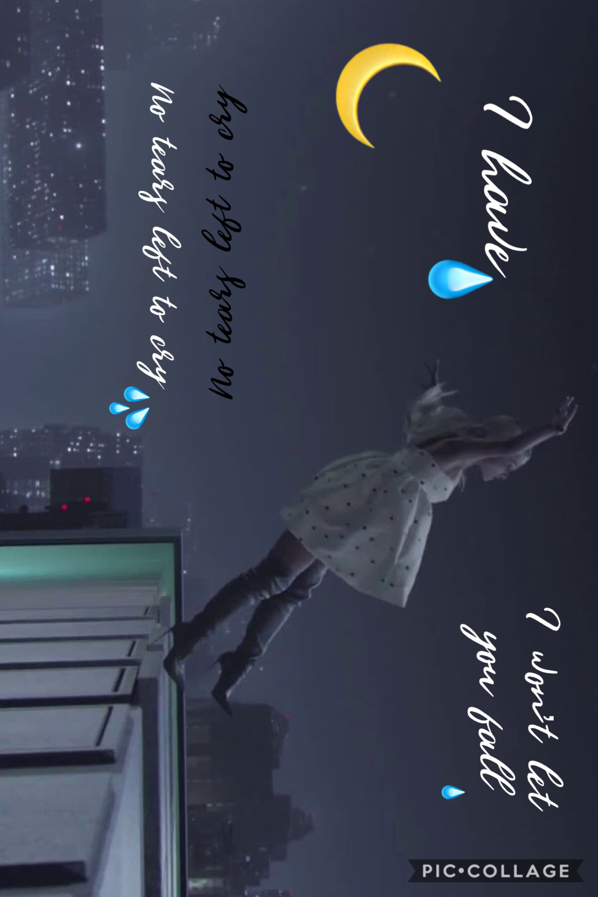 Yeah even when it's raining down hmmm oh ain't got no tears left to cry 💧🌙