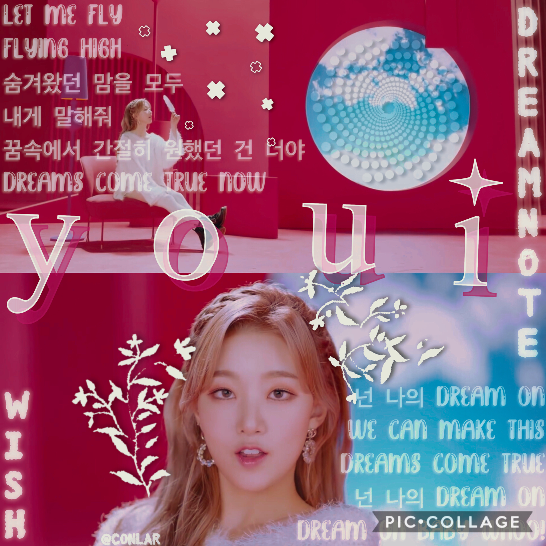wOaH, TWO collages in ONE day  bro i'm really spoiling y'all  but if this looks bad it's last minute... so happy youi day everyone! today is youi from dreamnote's birthday ❤️  also how are y'all?