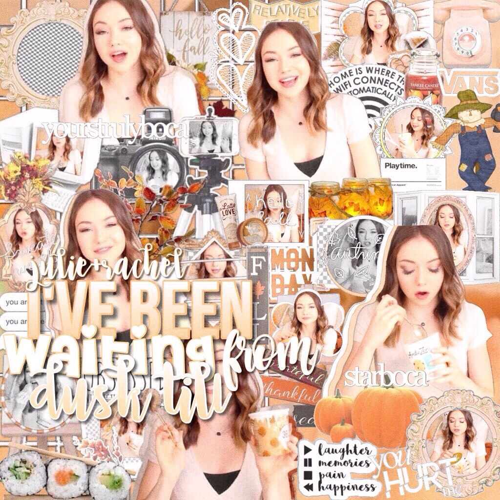 Fall collab with Julie🍂🍃sorry I've been so inactive😥I'm working on collabs