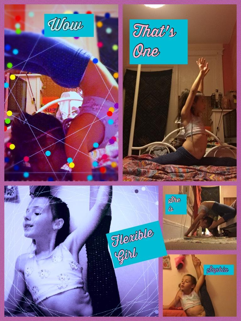 Sophia's Flexibility (part 1?)