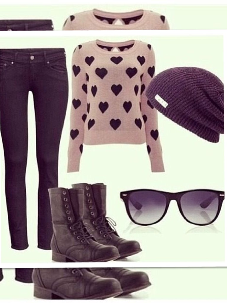 winter outfits for girls