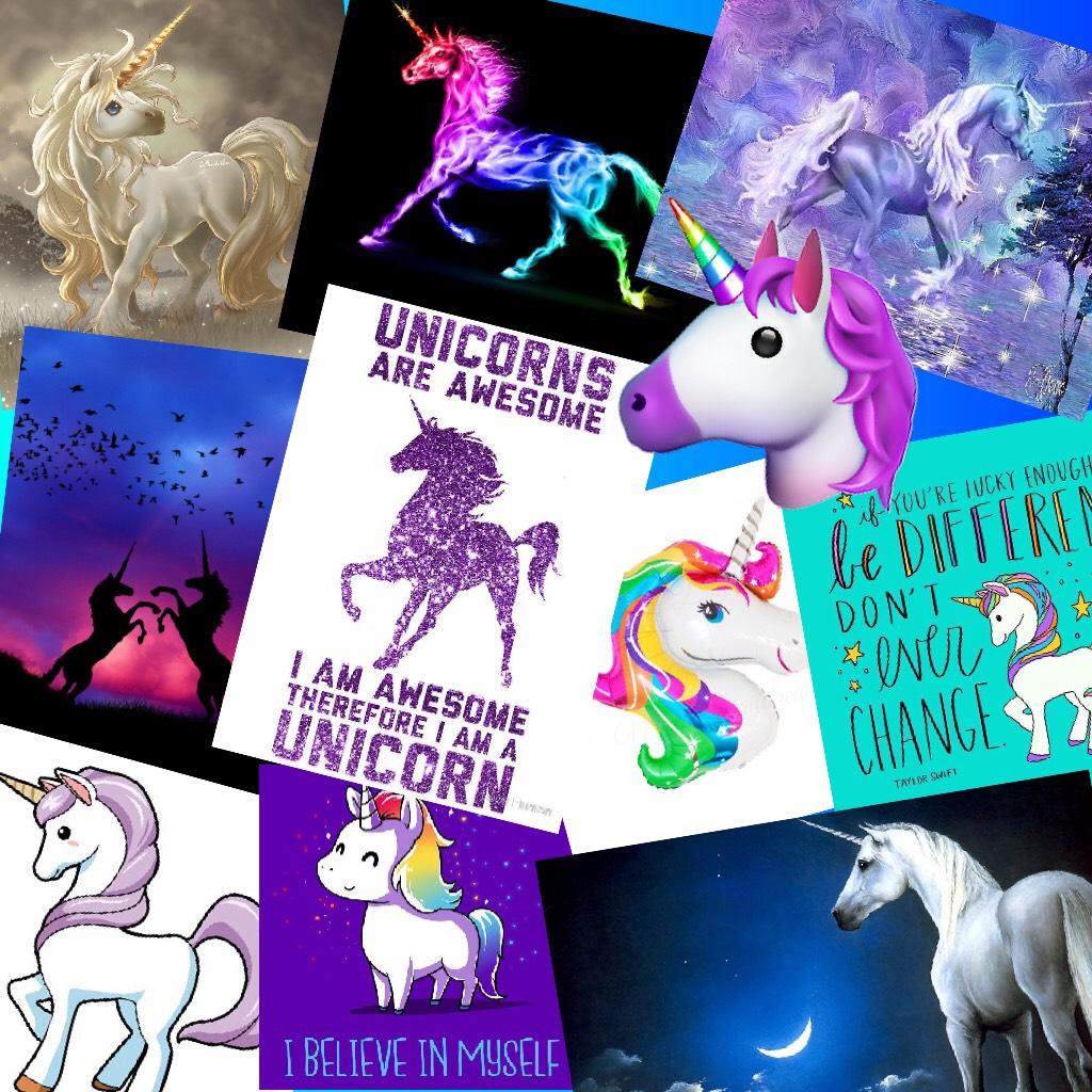 Unicorns!!!! 🦄🦄🦄