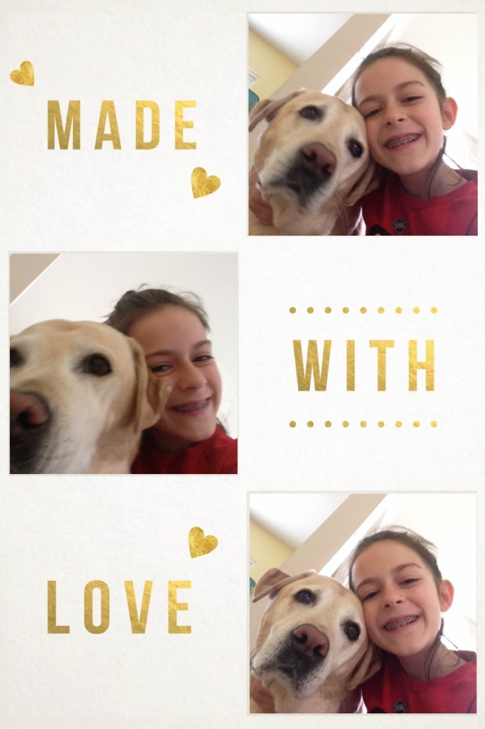 Me and my puppy!❤️❤️❤️😍😍😍😘😘😘