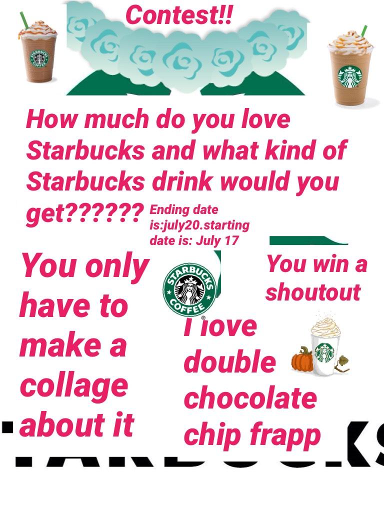 Starbucks contest