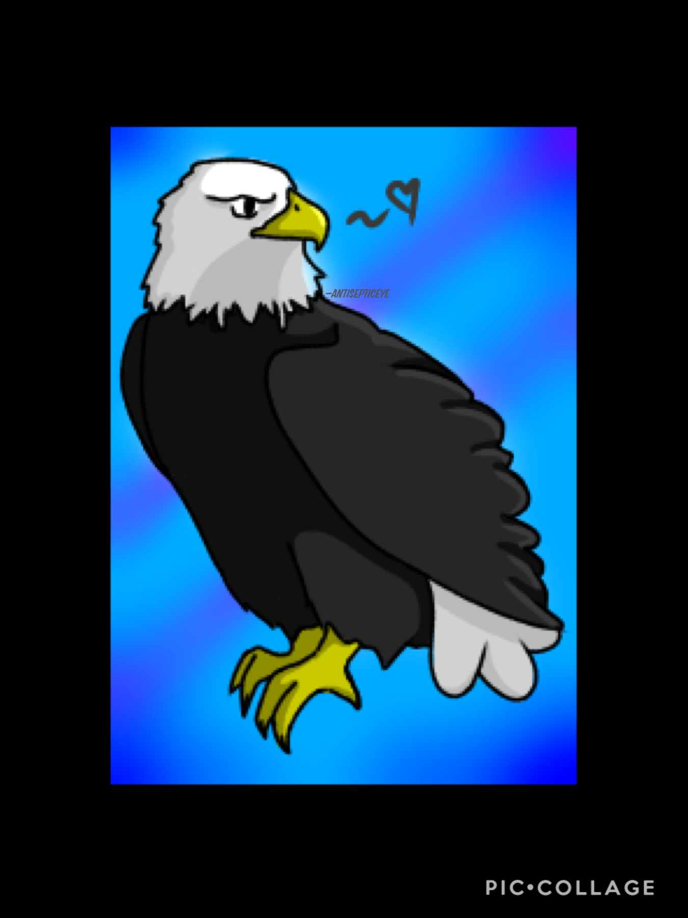 A little late but this is for the smol challenge by Alazel. Introducing Eddie the Eagle, my most favourite and sacred childhood toy that I would never go of in a million years~