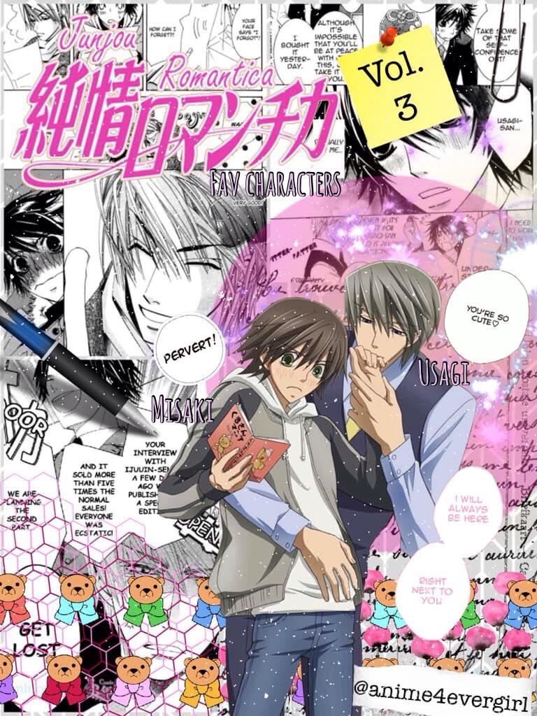 Fav character series: Junjo Romantica - Usagi & Misaki