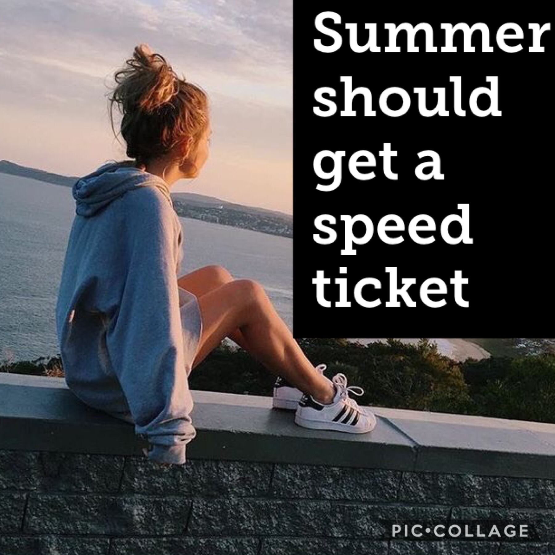 Who else thinks that summer should get a speed ticket?!!?