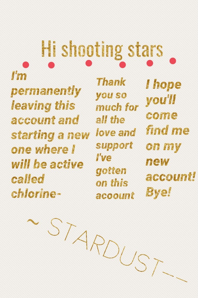 ~ STARDUST--