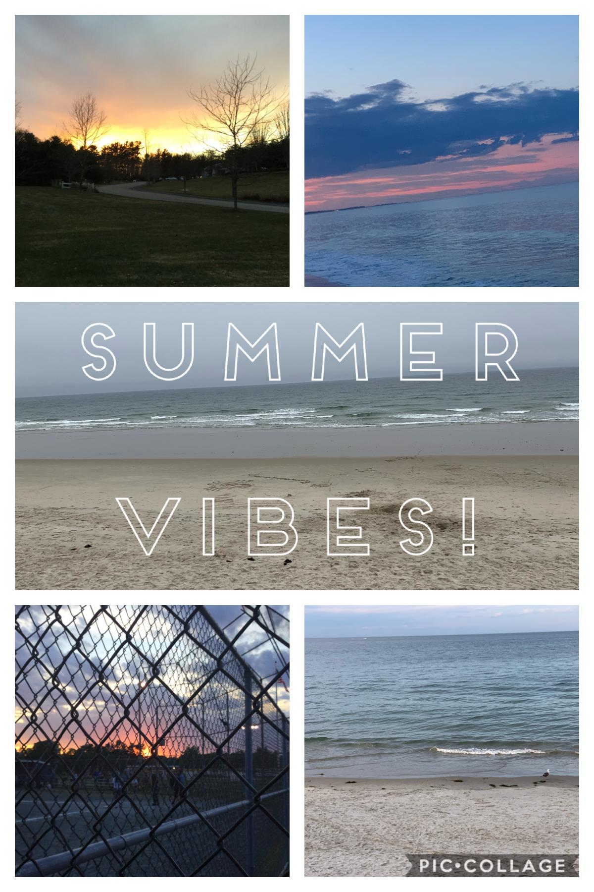 Summer vibes!