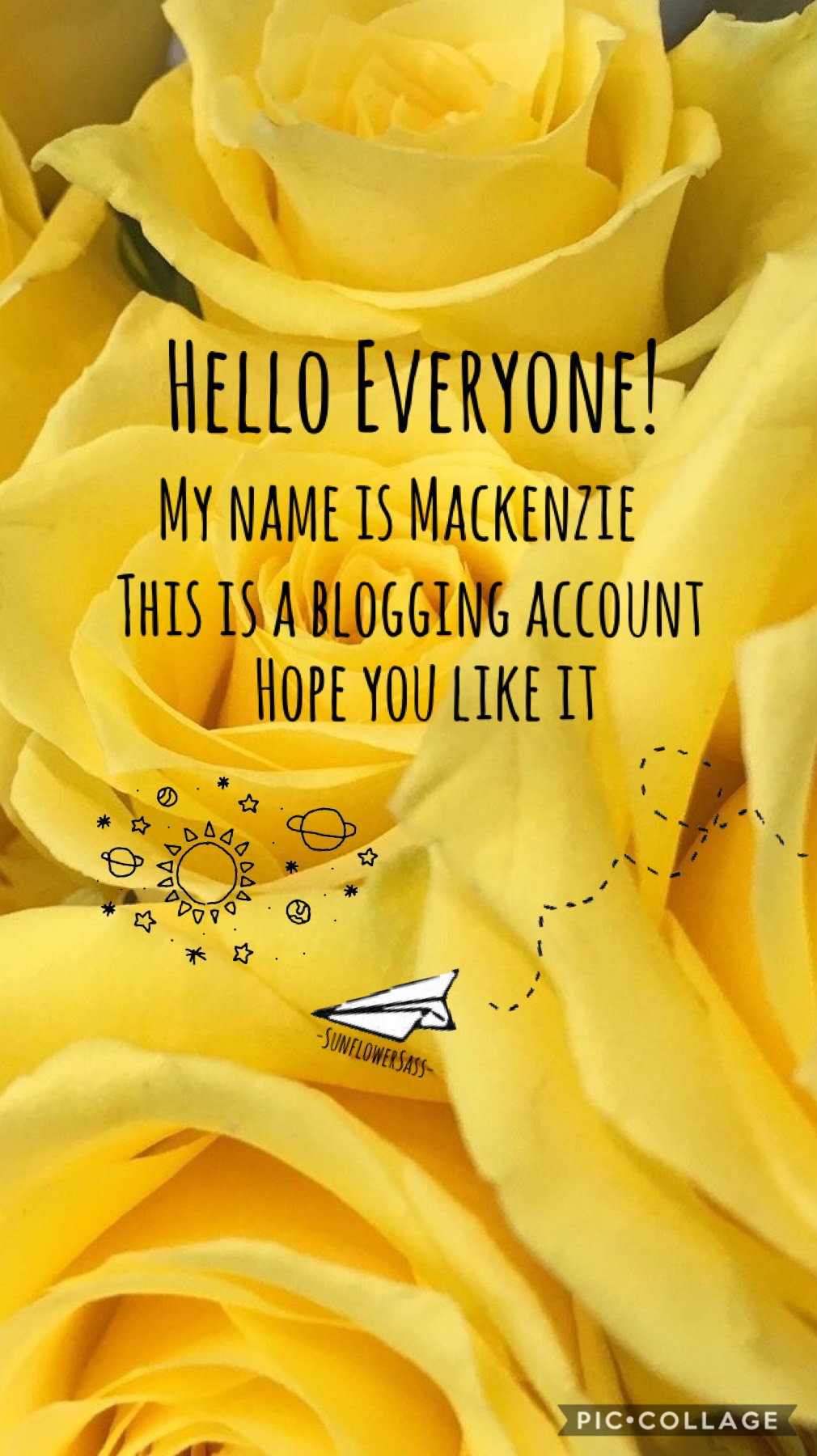 🌻Tap🌻  Hello Everyone! As of today I'm going to be blogging my days  Enjoy! Lots of Luv, Kenzie x 💗🌻