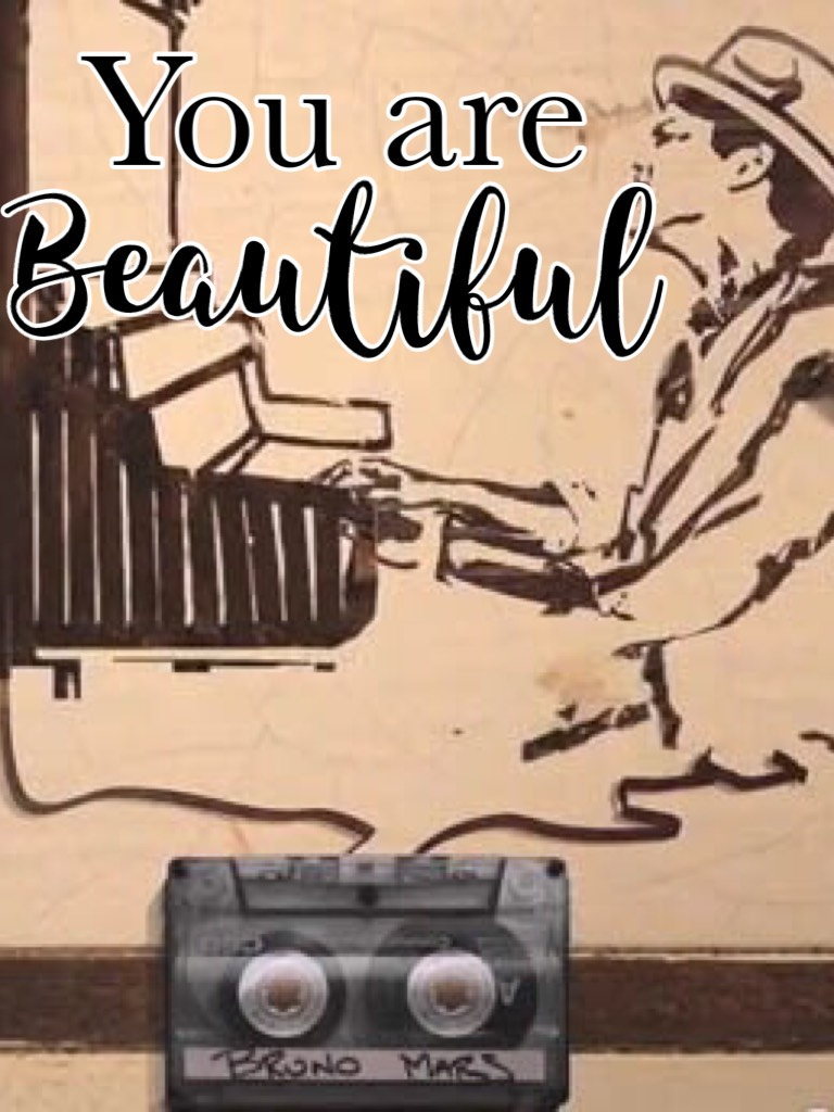 Just the way you are! A beautiful song on persuading someone not to body shame themselves and telling them they are beautiful inside, and out. Everybody out there on Pic collage, never try and shape yourself into someone you are not. Everyone is beautiful