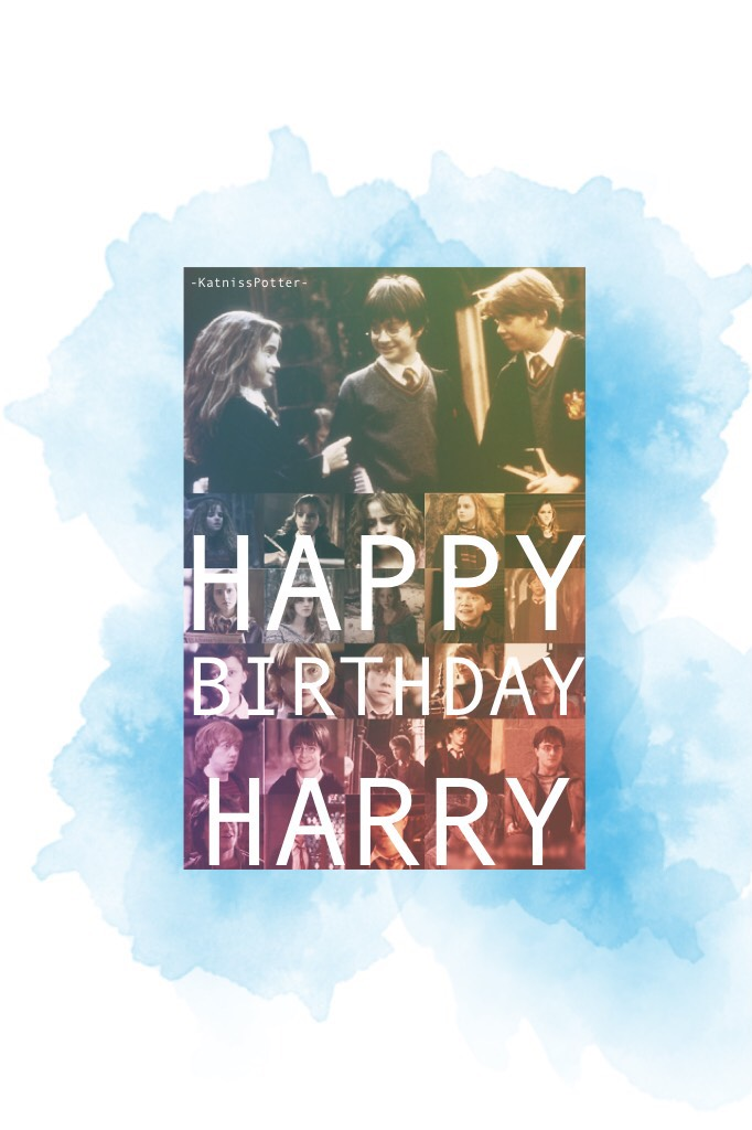 CLICK HAPPY BIRTHDAY HARRY!!!❤️⚡️👓 You are a great guy! Keep on changing the lives of young people, but none of this could have been done without JK ROWLING, who is a QUEEN and she should be the Queen of England because that would be amazing!!!!! Happy bi
