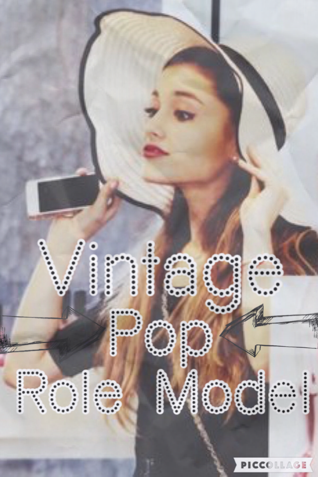 🌙CLICK HERE🌙  Guys if you don't know what I mean by Vintage Pop Role Model- I mean - he songs and kind of vintage, her songs are also pop and she is my role model and fav singer X