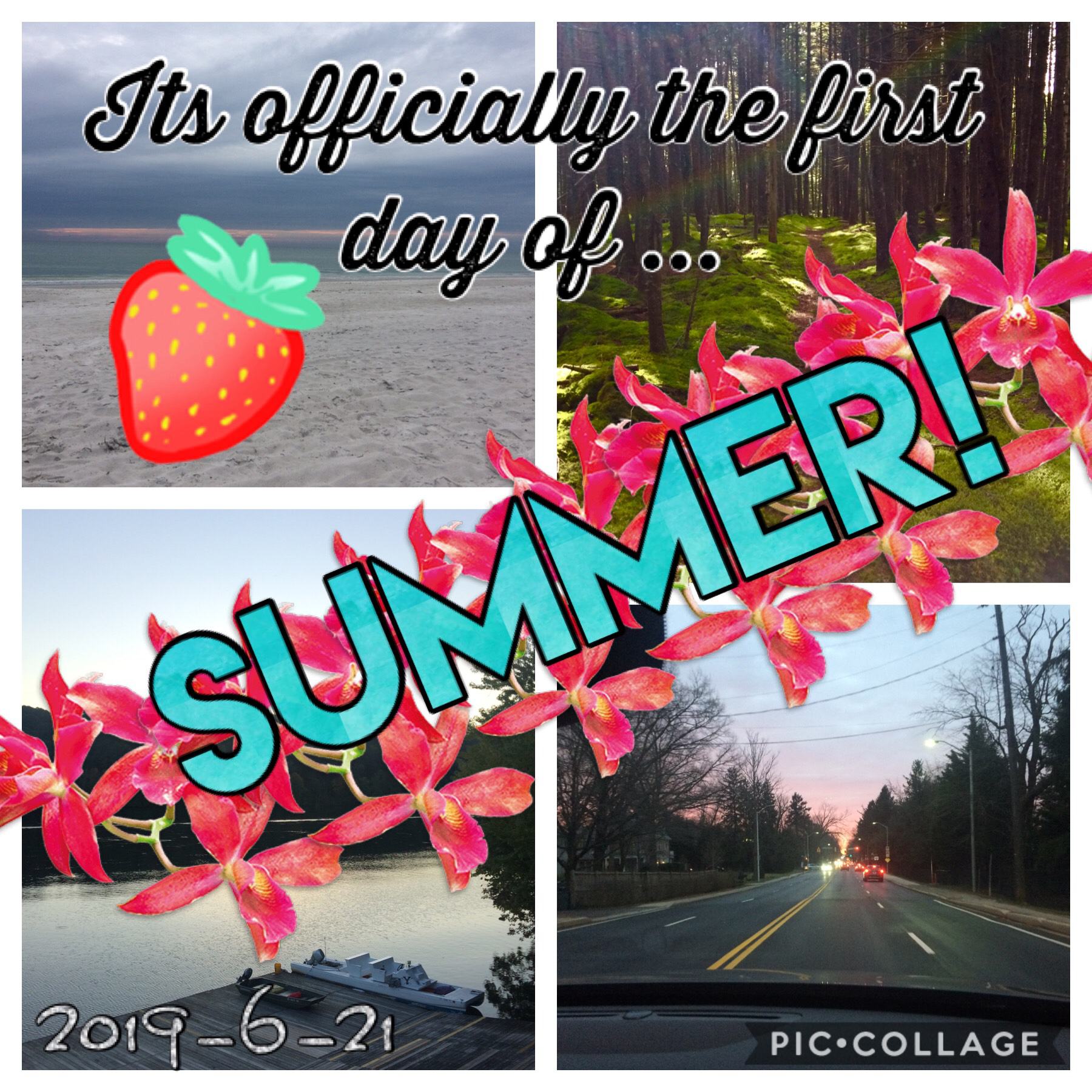 It's the first day of summer!!