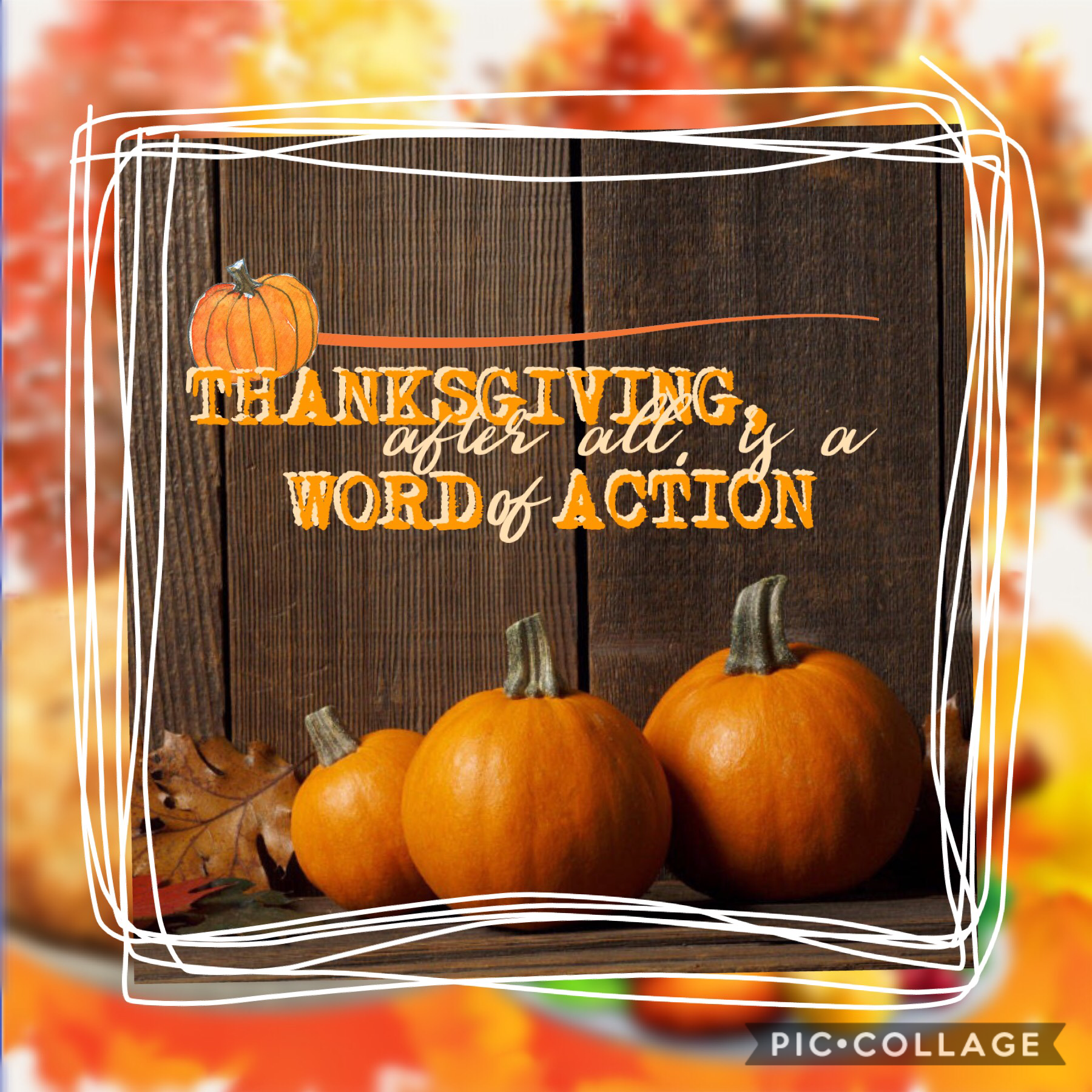 Hey guys!!! I posted twice this week... 😐  This is my entry to the PC thanksgiving contest! It's due in about 17 minutes. I'm so happy to start conversations with you guys again! Comment and rate!